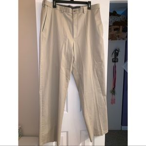 Haggar Classic Fit No Iron Khaki Dress Pant 38x34
